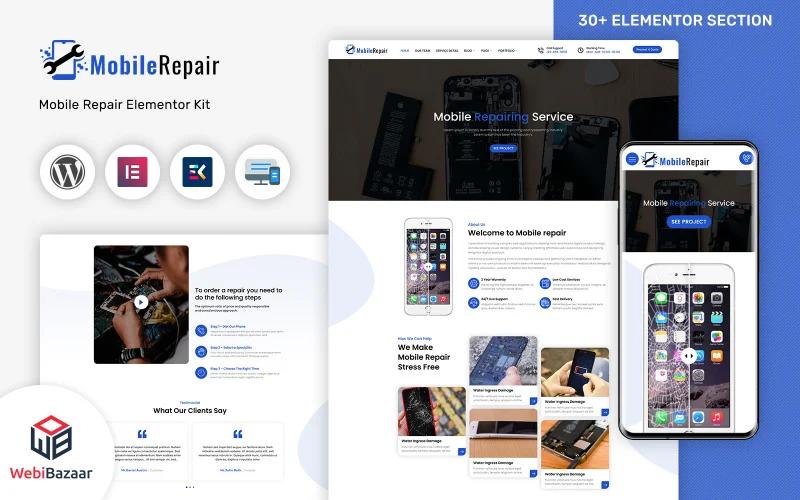 MobileRepair - Mobile Repair & Computer Services WordPress Template
